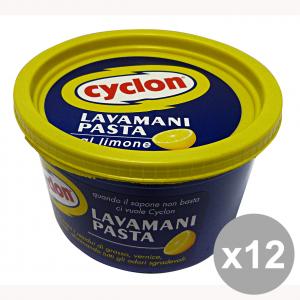 Set 12 CYCLON Pasta LavaMani 500 Gr. Saponi e cosmetici