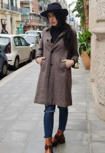 Cappotto vintage anni IN CASHMERE 70'S