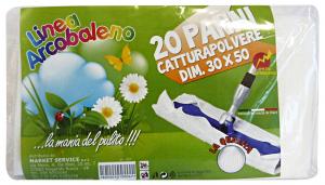 ARCOBALENO Panni Polvere 30x50 * 20 Pezzi  Attrezzi Pulizie