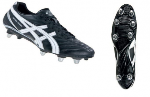 ASICS Scarpe rugby uomo LETHAL SCRUM nero silver bianco P031Y