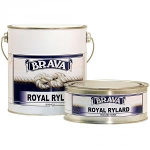 BRAVA Smalto Poliuretanico Royal Rylard Bianco 2,5 Litri Bicomponente Brillante