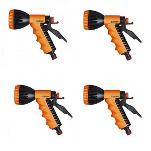 CLABER Multipack 4 Pezzi Pistola A Doccia Ergo 8541 Per Giardino Giardinaggio Giardino