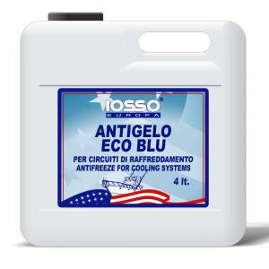 IOSSO Antigelo Eco Blu Liquido Speciale Per Circuiti Di Raffreddamento Litri 4