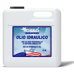 IOSSO Olio Idraulico Iso 46 Litri 4 Per La Nautica Lunga Durata