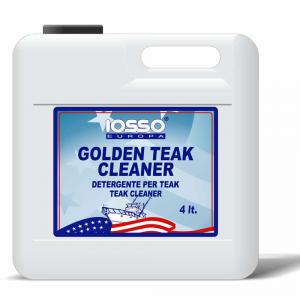 IOSSO Golden Teak Cleaner Detergente Per Rimuovere Grasso E Sporco Litri 4