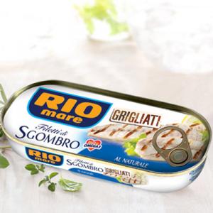 RIO MARE Filetti Di Sgombro Grigliati Al Naturale Grammi 120 - Made In Italy