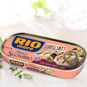 RIO MARE Filetti Di Sgombro Grigliati Con Olive Grammi 120 - Made In Italy