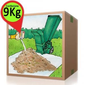 AZIMUTHCOMPOST Attivatore Compostaggio Compost Confezione Risparmio Da 9 Kg Composter