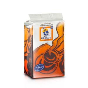 DERSUT Miscela Di Caffè Macinato Famiglia - 250 G Made in Italy