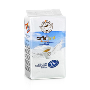 DERSUT Set 6 Miscela Di Caffè Macinato Decerato (Light - 250 G x 6 = 1,5kg) Made in Italy