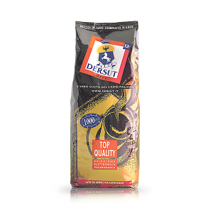 DERSUT Monorigine Arabica Brasile In Grani Santos - 1 Kg Made in Italy