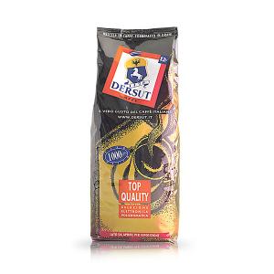 DERSUT Miscela Di Caffè In Grani Qualità Oro - 1 Kg Made in Italy