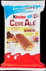 KINDER FERRERO Cereale Cioccolato Fondente Confezione 10 Pezzi 275 Grammi Snack Dolce