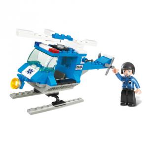 Costruzioni Sluban elicottero polizia