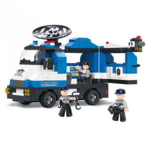 Costruzioni Sluban unità mobile polizia