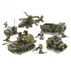 Costruzioni Sluban set dell'esercito