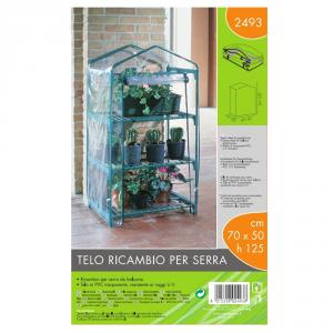 VERDEMAX Telo Ricambio Serra (70X50X125 Cm) Verdi Scure Giardino