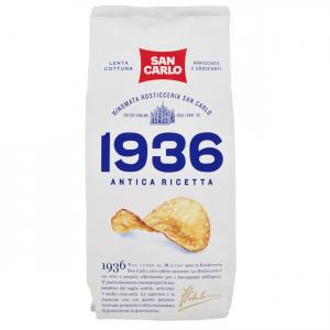 SAN CARLO 1936 Antica Ricetta Confezione 10 Buste Da 150 Grammi Patatine Snack Salato