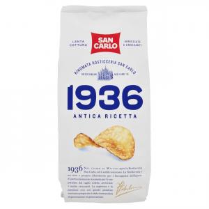 SAN CARLO 1936 Antica Ricetta Confezione Da 150 Grammi Patatine Snack Salato