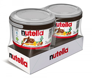 FERRERO Nutella 2 Secchielli Da 3Kg Cadauno Per Dolci Specialità Supercrema Nocciola Cioccolato