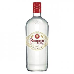 PAMPERO Rum Bianco Confezione In Bottiglia Di Vetro Da 1 Litro Bevanda Alcolica