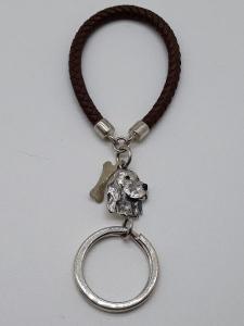 Portachiavi in argento con Setter vendita on Line | BRUNI  GIOIELLI