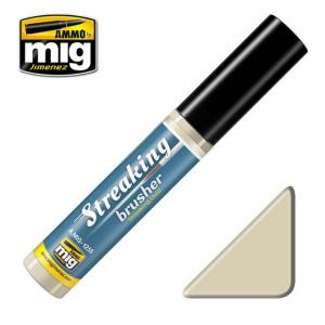 STREAKINGBRUSHER STREAKING DUST  Weathering paint with fine brush applicator  to create Streaking effect.
