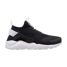 SNEAKERS NIKE AIR HUARACHE 819685-018 RUN ULTRA BLACK/WHITE-WHITE