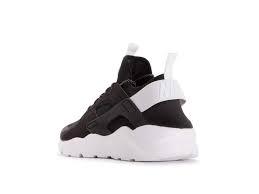 SNEAKERS NIKE AIR HUARACHE 819685-018 RUN ULTRA BLACK/WHITE-WHITE