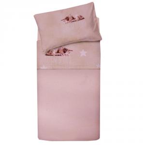 Set lenzuola per lettino con sponde BASSETTI SOGNI D'ORO neonato