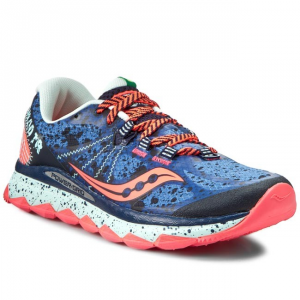 SCARPE SAUCONY NOMAD TR S10287-1 BLU/NVY/COR RUNNING