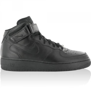 SNEAKERS NIKE AIR FORCE 1 MID'07 315123-001 BLACK/BLACK-BLACK
