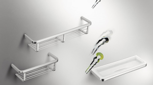 Porta oggetti da doccia per il bagno serie Lulu Colombo design