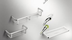 Griglia porta oggetti da doccia per il bagno serie Lulu Colombo design