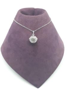 Collana donna Chiama Angeli argento e zirconi vendita on line | BRUNI GIOIELLERIA