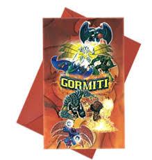 6 Inviti con busta Gormiti