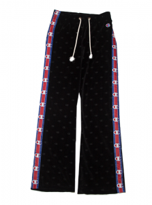 Pantaloni jogger con banda e logo laterali, taglio leggermente svasato Champion