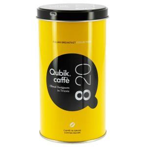 Qubik miscela 8:20 caffè in grani lattina da 250 gr