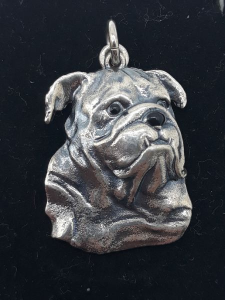 Ciondolo in argento 925 Bulldog Inglese I MUSOTTI vendita on line | BRUNI GIOIELLERIA
