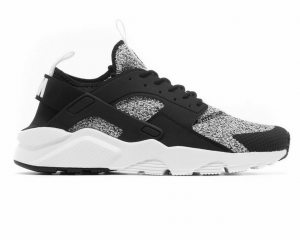 SNEAKERS NIKE AIR HUARACHE 875841-010 RUN ULTRA SE BLACK/WHITE-WHITE