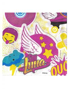 20 Tovaglioli 33x33 Soy Luna
