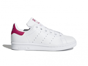 SNEAKERS ADIDAS STAN SMITH J B32703 WHITE/PINK ORIGINALS