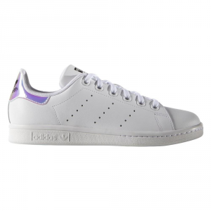 SNEAKERS ADIDAS STAN SMITH J AQ6272 WHITE/METSIL