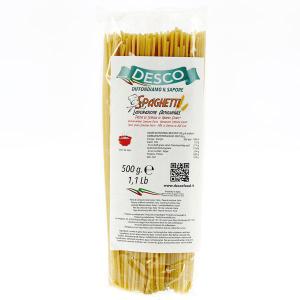 Desco Spaghetti di  semola di grano duro pacco da 500 gr