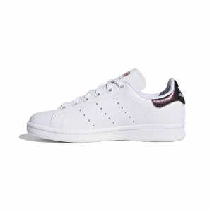 SNEAKERS ADIDAS STAN SMITH J B37186 WHITE/TRAMAR
