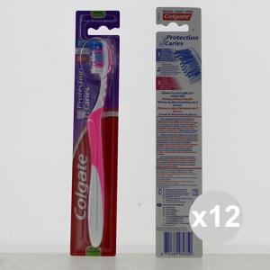 Set 12 COLGATE Spazzolino Sac Protections Spazzolini Manuali igiene e pulizia orale