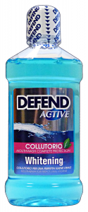 DEFEND Colluttorio active whitening 500 ml. - dentifrici