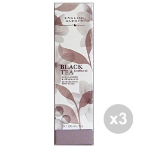 Set 3 ATKINSONS Acqua Corpo BLACK TEA 200 Ml.  Profumi
