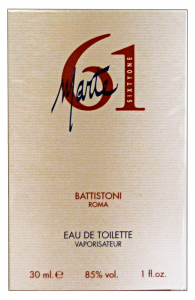 BATTISTONI Marte sixty one Eau de toilette Colonia uomo 30 ml. - Profumo maschile