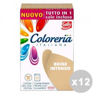 GREY Set 12 GREY Coloreria italiana tutto in 1 beige intenso